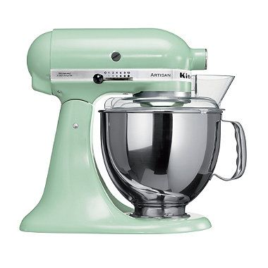 Pistachio KitchenAid® Artisan® Stand Mixer -  £386 at currys and John Lewis deal, and free ice cream maker