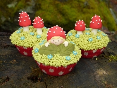Tomtebobarnen cupcakes By suw on CakeCentral.com