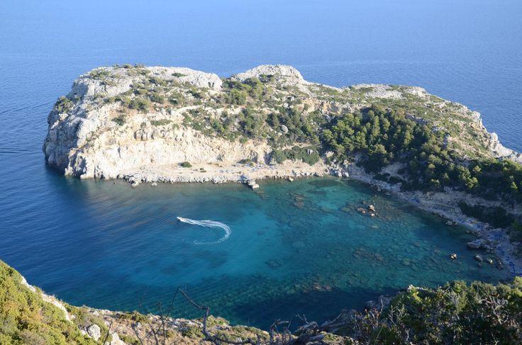 Ladiko Beach Rhodes, Greece