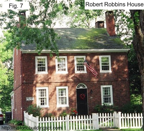 Historic Buildings of Connecticut » Federal Style Houses,Robert Robins House,Wethersfield,CT, 1792