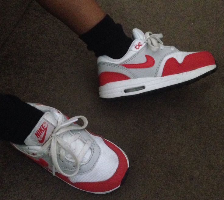 My son's Nike Air Max 1 sneakers