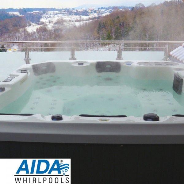 AIDA LAGUNA II Outdoor Whirlpool (5 6 Pers