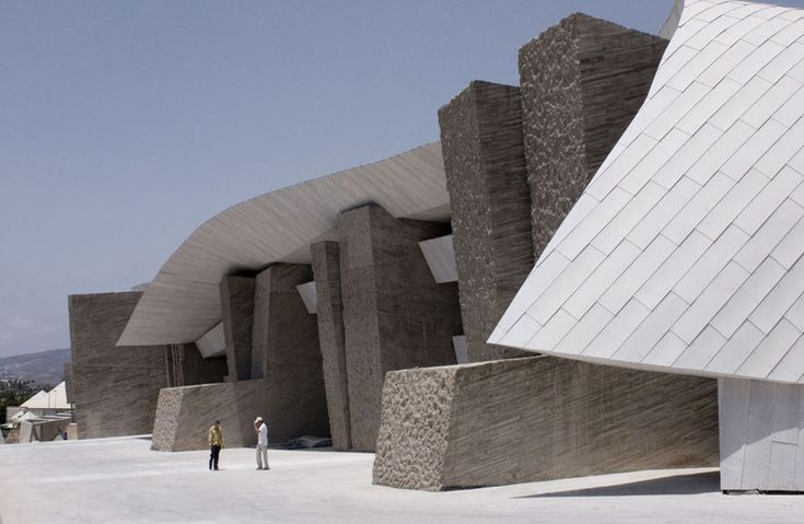 Built by Felipe Artengo, Fernando Menis, José Maria Rodriguez Pastrana in Arona, Spain with date 2005. Images by Hisao Suzuki & AMP arquitectos. The Adeje Coast Convention Centre on Tenerife has to coexist with a difficult environment due to the proximity of the...