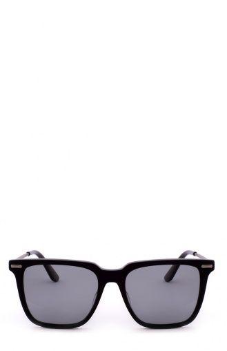 Мужские чёрный солнцезащитные очки Bottega Veneta, сезон FW 16/17, арт. 0027 002 купить в ЦУМ | Фото №1