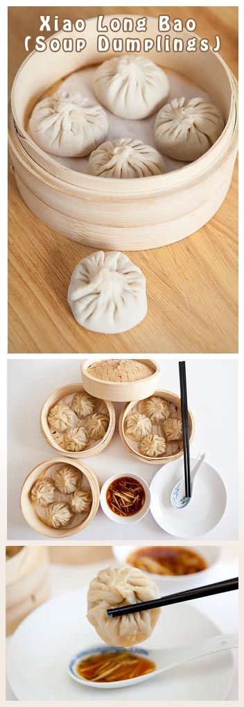 ... Chinese Dumplings, Easy Asian Dumplings, Xiao Long Bao, Chinese Soup