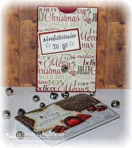 KayBeScraps: Adventskalender to go..