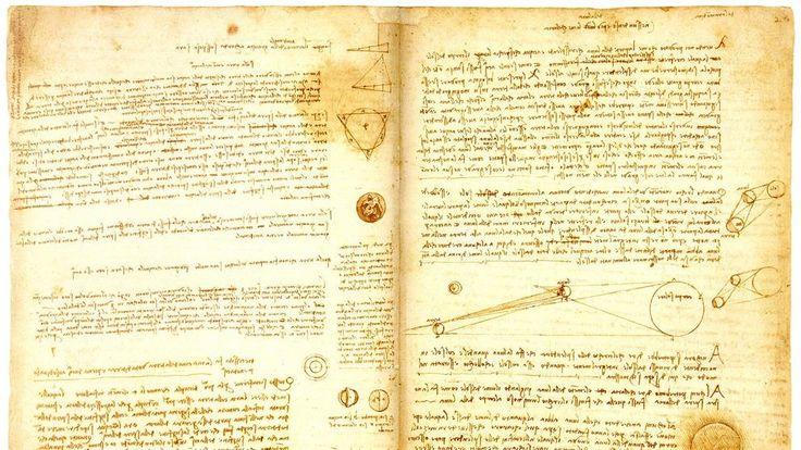 El 'Codex Leicester' de Da Vinci vuelve a Italia cedido por Bill Gates