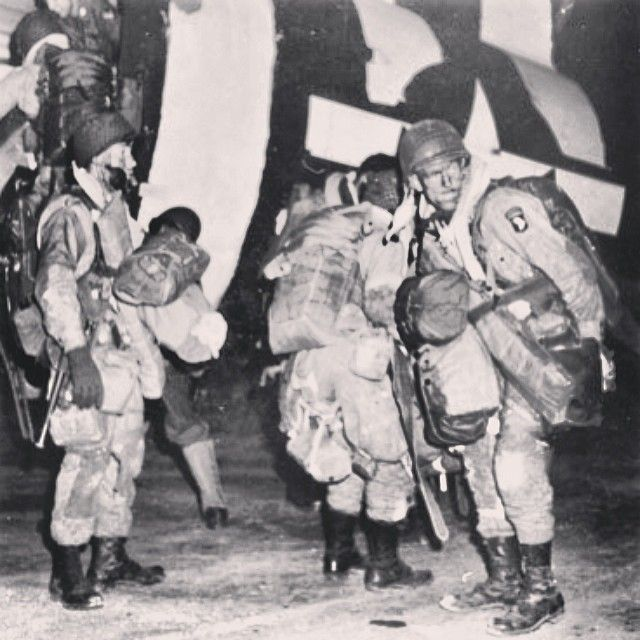 101st Airborne Division prepare for D-Day