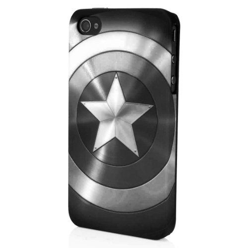 Marvel Avengers Captain America Shield Metalic Black & White Case for iPhone 4/4S - Limited Edition Rare, http://www.amazon.com/dp/B00AZXWOME/ref=cm_sw_r_pi_awd_h7-Esb0HAXA4X