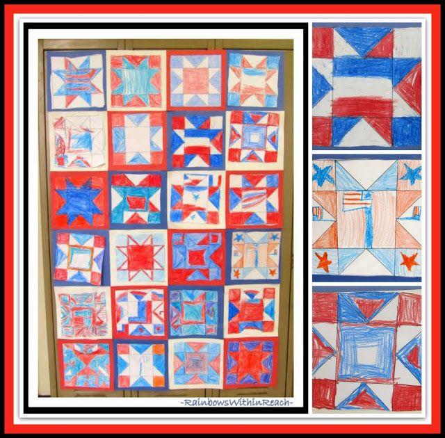 The American Flag as Art for Memorial Day: Children's Patriotic Art