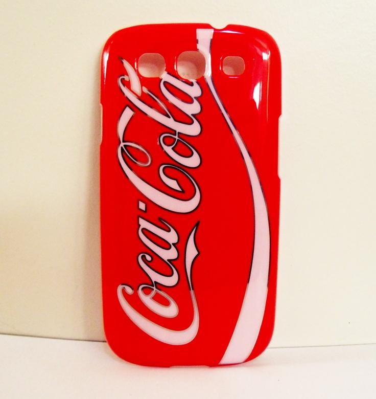 #capinha Coca Cola vermelha para Samsung Galaxy S3 por 49,90 no www.capinhas.net