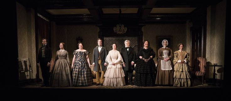 The Cast of The Heiress by Ruth and Augustus Goetz, based on the novel Washington Square by Henry James. Picture by Pat Redmond