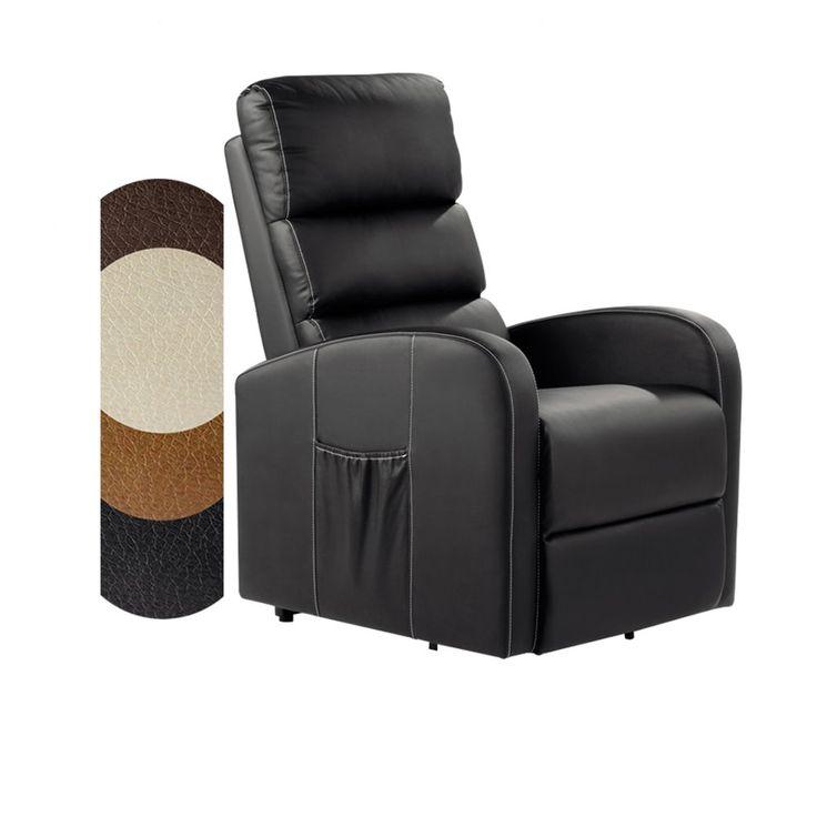 Total Relax Massagesessel Relaxsessel Mit Elektrischer Aufstehhilfe Schwarz In 2020