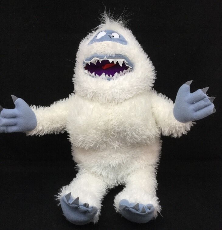 """Abominable Snowman Bumble Rudolph Red Nosed Reindeer Plush 14"""" Nanco Toy  #Nanco"""