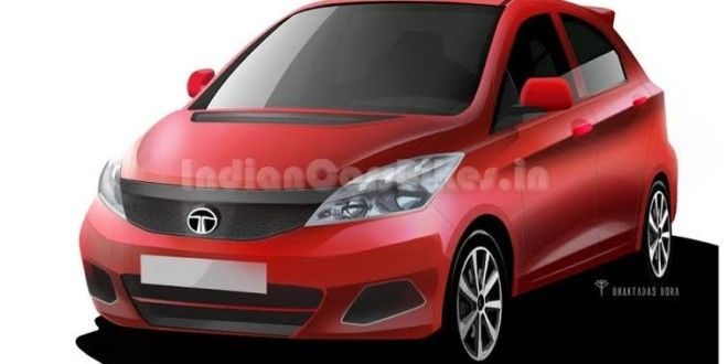 Is this how the Tata Kite would look like? Check out all Images, Video, Launch Details here - http://www.carblogindia.com/tata-kite-hatchback-india-price-photos-spied-in-pune/