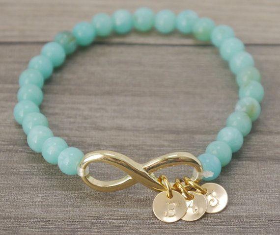 Grandma Bracelet Love Gift Infinity Bracelet by MadiesCharms, $22.00