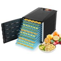 Buy Food Dehydrator Machine Dryer Maker Commercial Fruit Vegetable Jerky Snack Preserve 10 Tray For a Bargain Price at Voilamart in Australia.