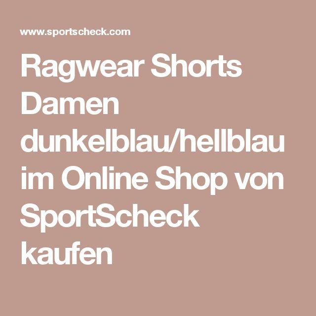 Ragwear Shorts Damen dunkelblau/hellblau im Online Shop von SportScheck kaufen