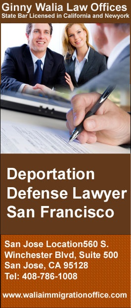 Ginny Walia is an experienced Deportation Defense lawyer in San Francisco, Oakland and Hayward. Call for a consultation to discuss your deportation defense matter.