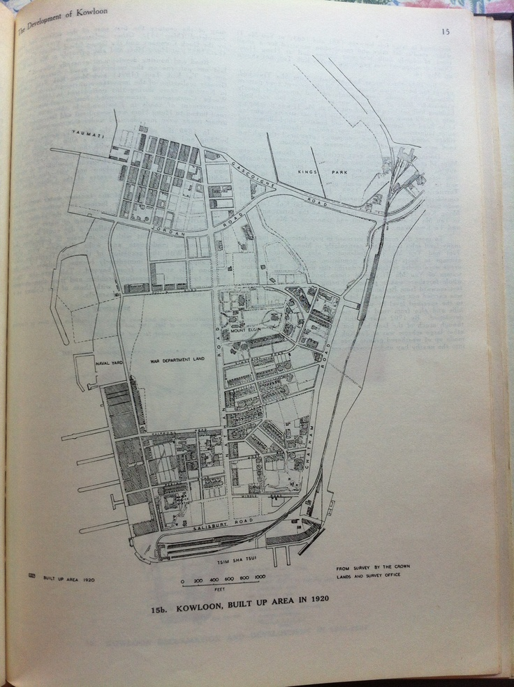 Kowloon Built Up Area in 1920 8