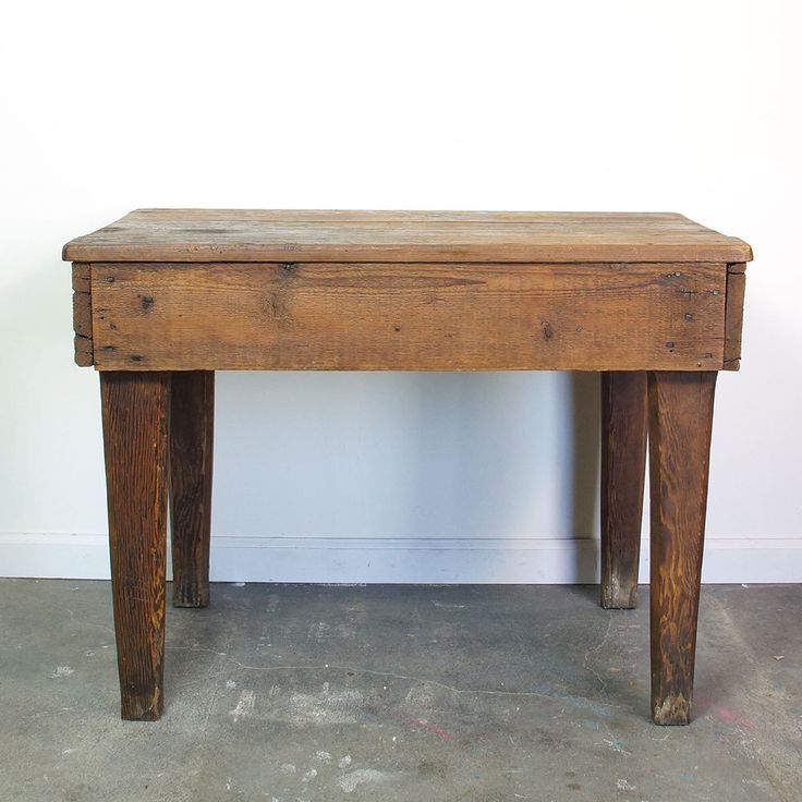 1000 ideas about solid wood desk on pinterest executive for Arts and crafts kitchen table