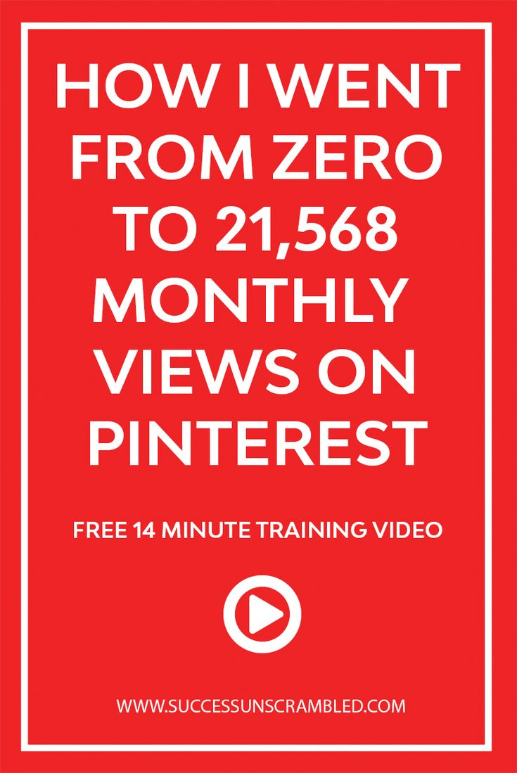 Ever wanted to increase your monthly views, clicks and pins from Pinterest? Here is a free mini course where you can learn how I want from zero to 21k monthly views on Pinterest. #pinterestmarketing #pinteresttips #blogging