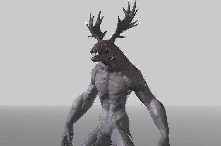 Horror Creature - Vendigo #Creature#Horror#Characters#Vendigo | Creatures, 3d characters, Horror