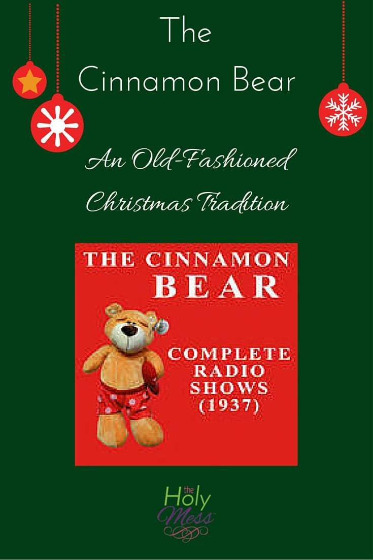 The Cinnamon Bear: An Old-Fashioned Christmas Tradition | Merry ...