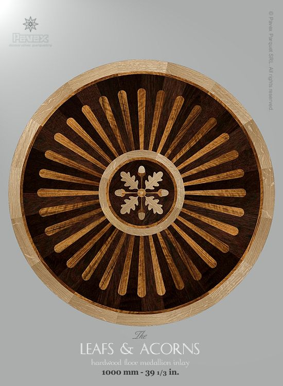 17 best images about the hardwood floor medallion inlays for Wood floor medallions