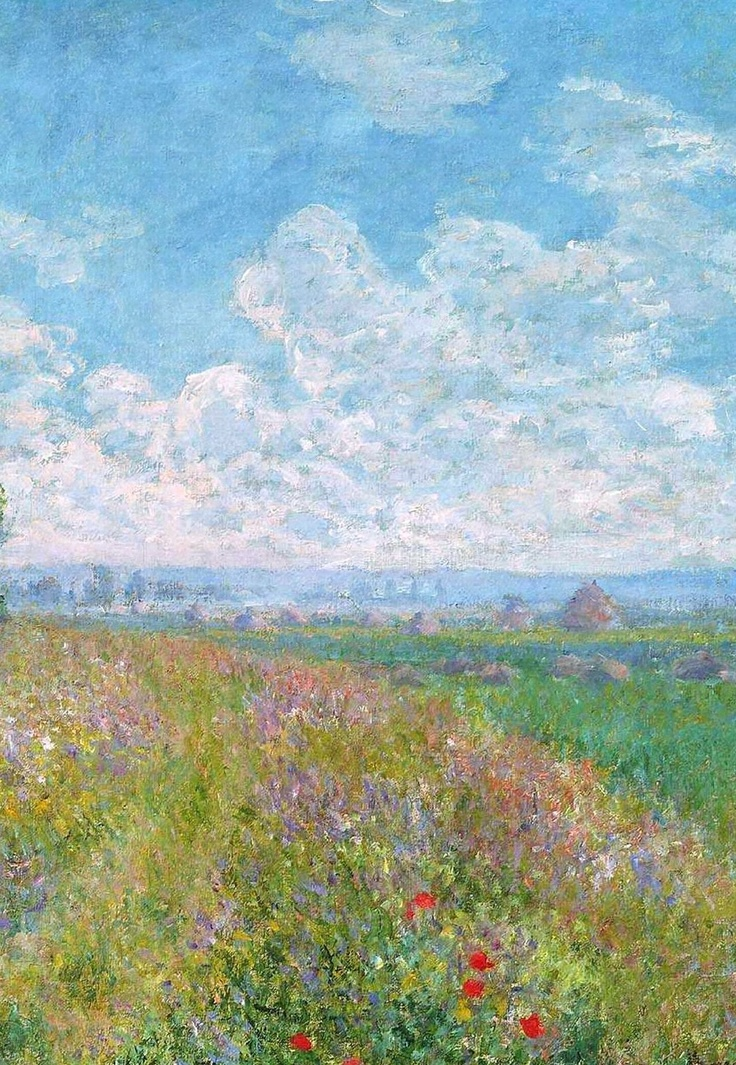 Monet. I have always admired his paintings. There is a calmness to them.