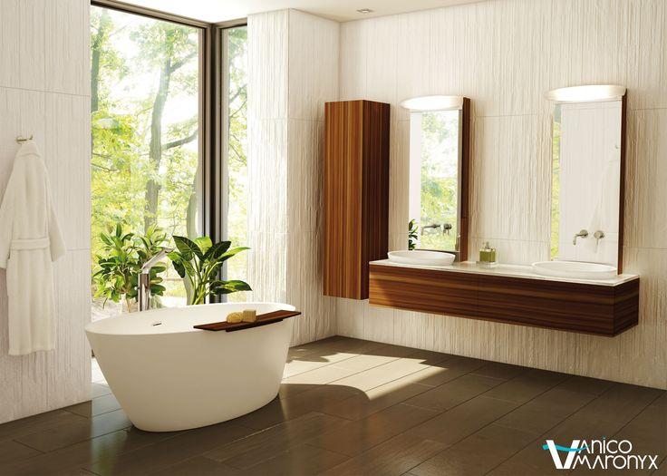 Mobiler de salle de bain SWEET HOME de la SÉRIE LOFT - VANICO MARONYX. Disponible chez Montréal - Les - Bains