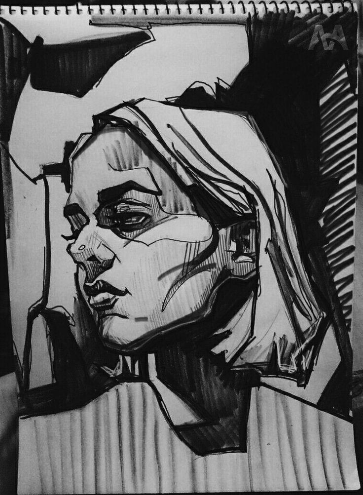 Graphics (sketches,wood/linocut, etching, lithography) on Behance
