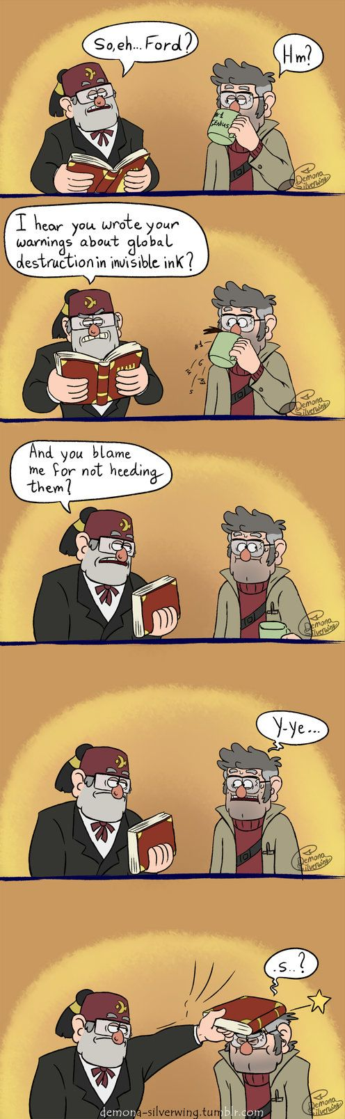 Stupid Genius by Demona-Silverwing on DeviantArt