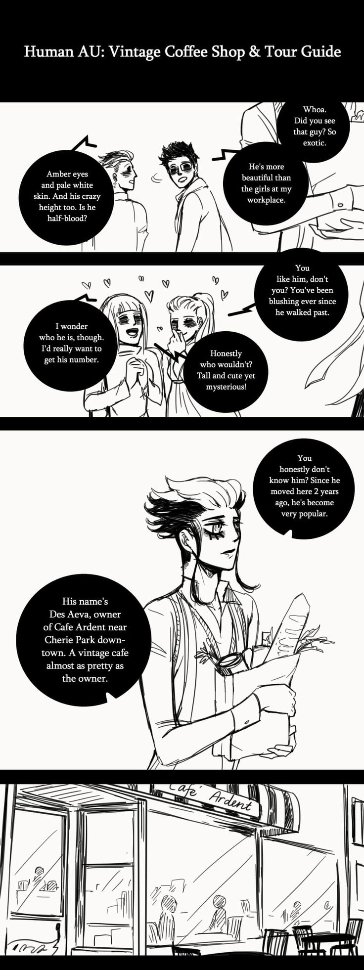 A Matter of Life and Death :: Special Episode: 1 Year Anniversary (Part 1) | Tapastic Comics - image 1