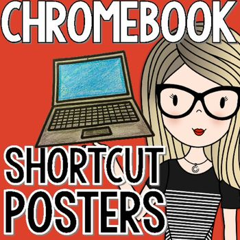 Twelve different Chromebook shortcuts are featured in this blue and green chevron design. Each poster is a half sheet, making this easy to print and prep. The shortcuts included are:-Copy-Paste-Zoom In-Zoon Out-Reset Zoom-Save-Print-Cut-Undo-New Tab-Lock Screen-Log OutThese posters will be great for a technology bulletin board and will help students maximize their use of Chromebooks throughout the year!***********************************************************************Be the first to…