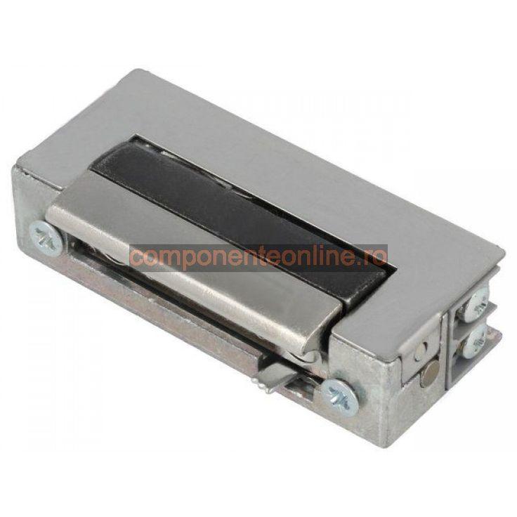 Yala electromagnetica, 12V, AC, DC, 16,5mm, cu intrerupator, Lockpol - 006950