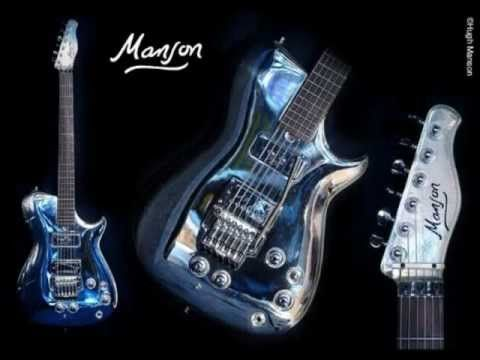 "Matthew Bellamy ""Manson Guitars"" Part 1"