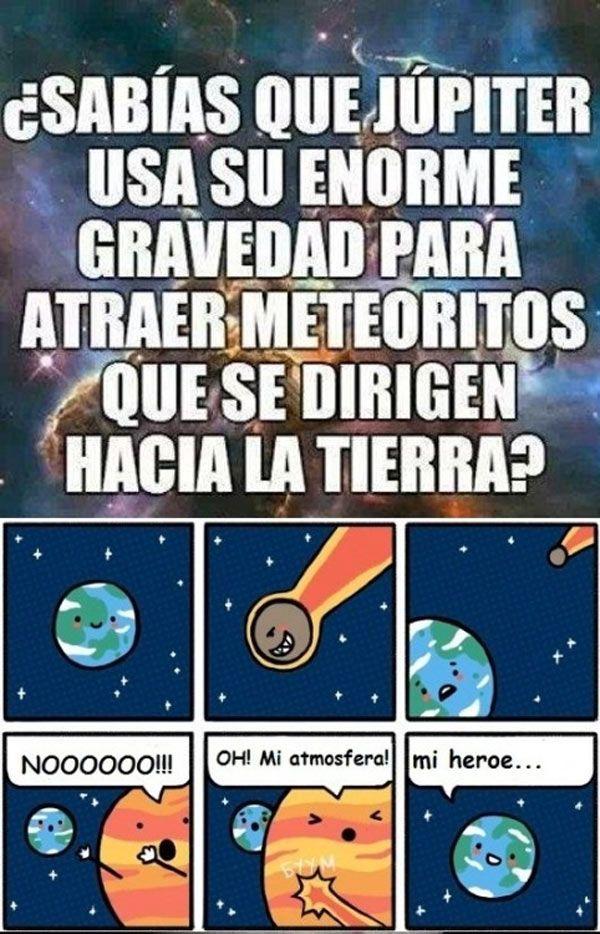 La enorme gravedad de Júpiter. #humor #risa #graciosas #chistosas #divertidas