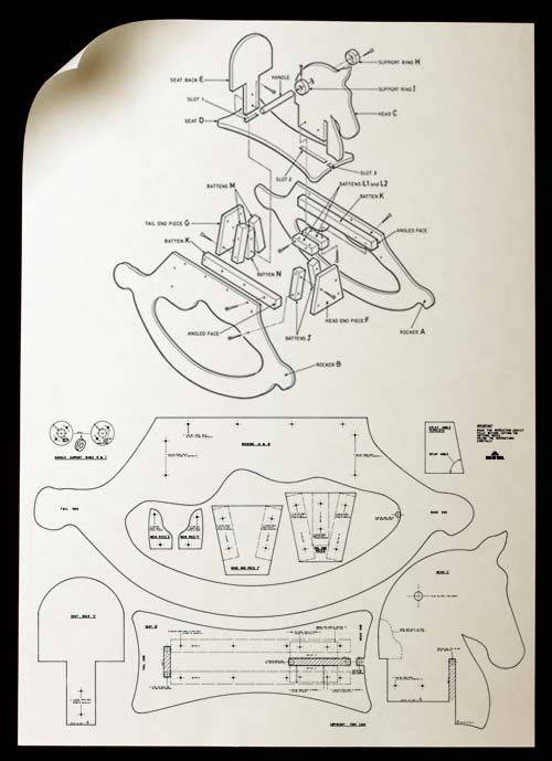 Rocking horse plans, Build a Wooden Rocking Horse with Free Plans Use free rocking horse plans to build a toy your child will cherish for years.
