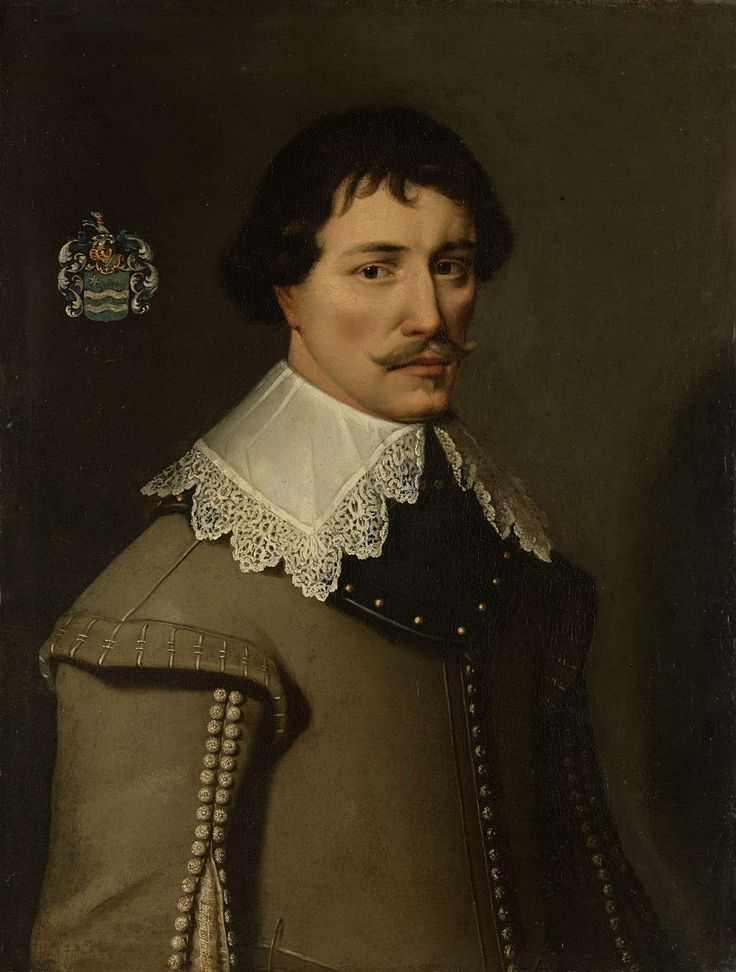 Portrait of Nicolaas de Witte (1603-29), Anonymous, , 1629