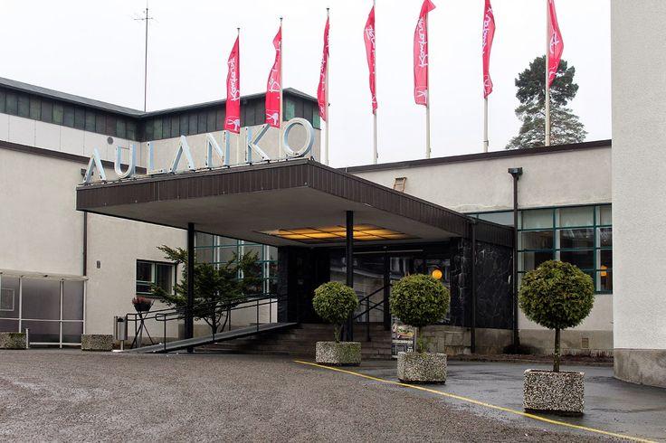 Hämeenlinnassa yösijanamme toimi Kylpylähotelli Rantasipi Aulanko.