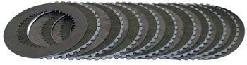 Kevlar Clutch Friction Plate Kit (includes 9 plates) Fits Softail 1990/2006-by-Belt Drives Ltd. The 14mm by 3 3/8 belt is the same that the top fuel racers use on their 600 plus horsepower machines.. This kit is designed for oil filter (included) mounting in the motor plate.. Part number 77204 is the complete drive with outboard bearing suppor... #Belt_Drives #Automotive_Parts_and_Accessories