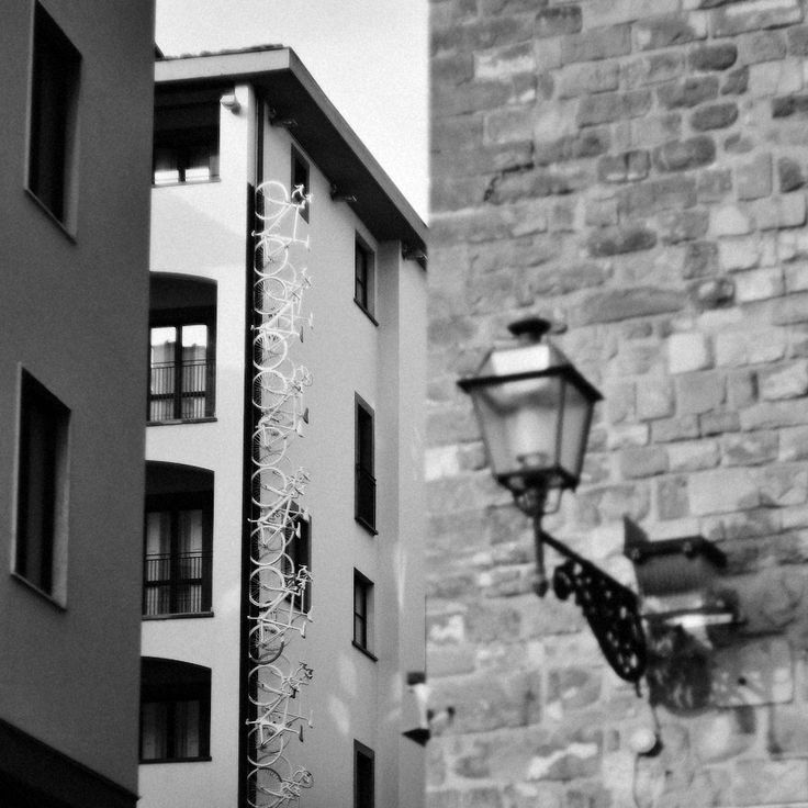 #helios #bicycle #details #outdoors #Florence #life #moments #mamba #city #center #square #bw #building #place #photo by Olga Tkachenko