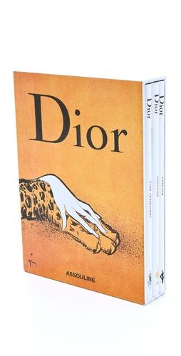 Dior Book Set: Presented in a beautiful box set, these three volumes by Caroline Bongrand and Jerome Hanover focus individually on the fashion, fine jewelry, and perfume of the Dior fashion empire. One of the world's most celebrated luxury brands, the house of Dior has a rich history as a pinnacle of French haute couture.