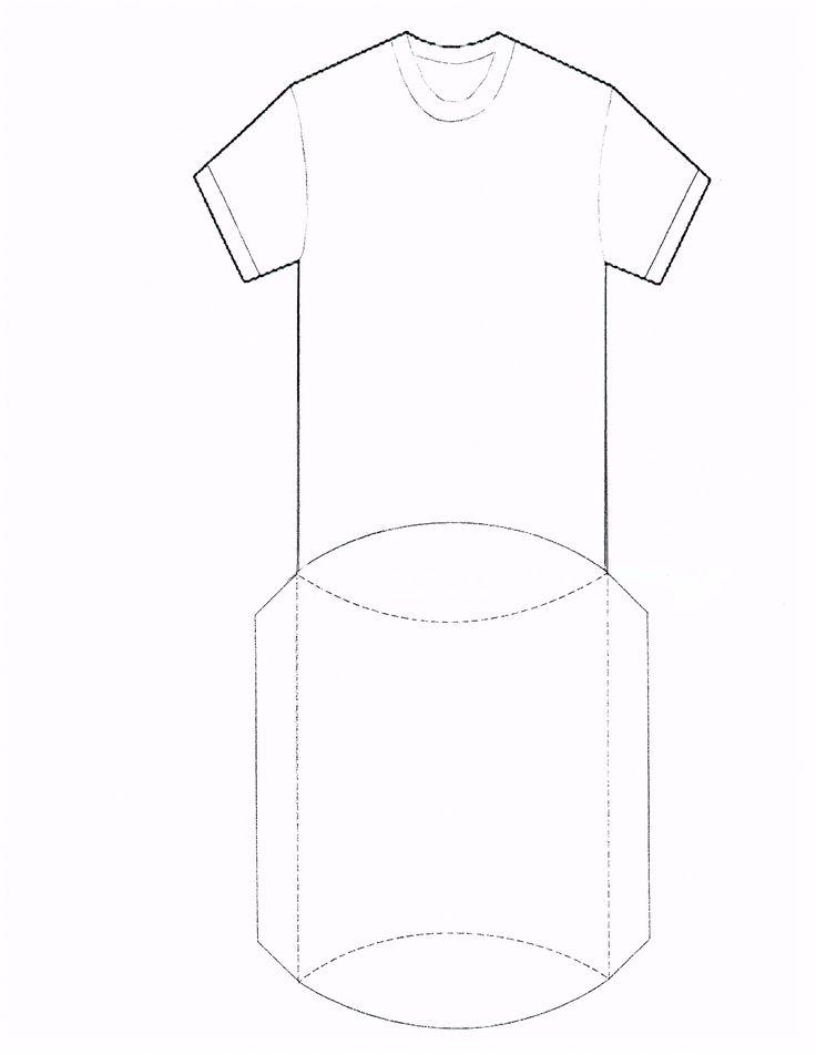 T shirt pillow box