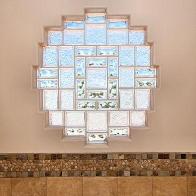glass block window bathroom designs pinterest