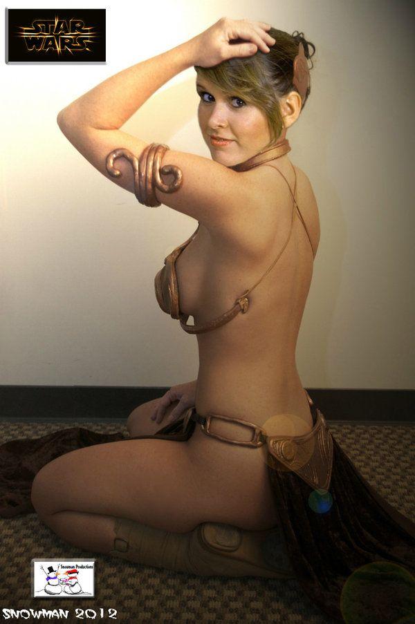 Princess Leia - Slave Girl by TheSnowman10.deviantart.com on @deviantART