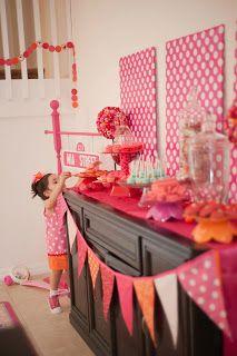 Savvy and Sassy: Girly Elmo 2nd Birthday Party