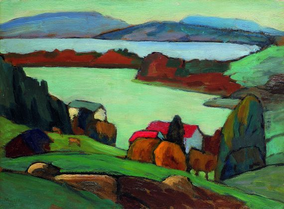 Staffelsee by Gabriele Münter.