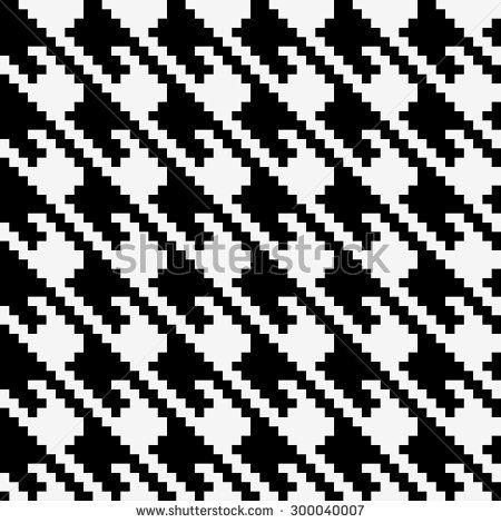 Wayuu Mochila pattern abstract seamless pattern black and white vector